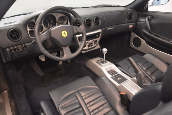 Used 2003 Ferrari 360 Spider 6-Speed Manual for sale Sold at Pagani of Greenwich in Greenwich CT 06830 25