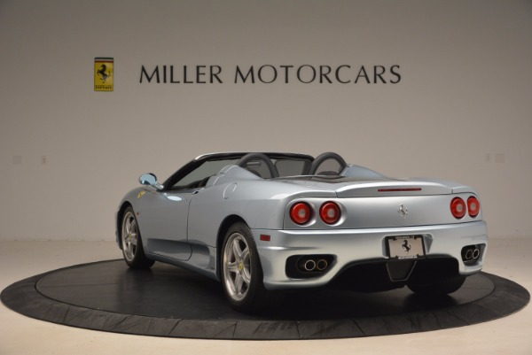 Used 2003 Ferrari 360 Spider 6-Speed Manual for sale Sold at Pagani of Greenwich in Greenwich CT 06830 5