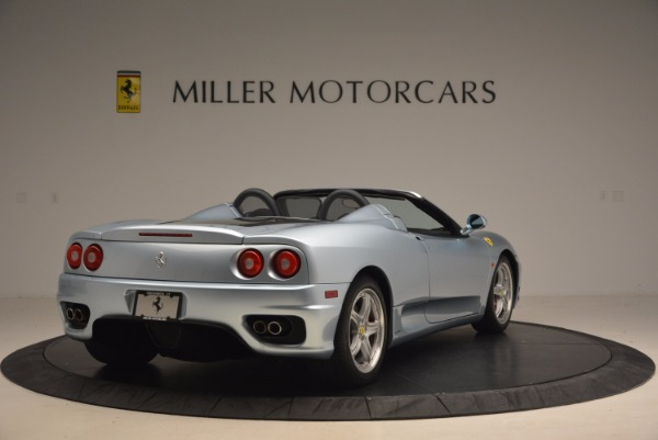 Used 2003 Ferrari 360 Spider 6-Speed Manual for sale Sold at Pagani of Greenwich in Greenwich CT 06830 7