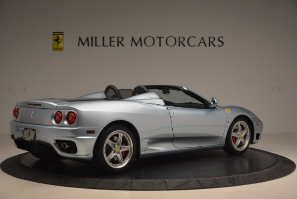 Used 2003 Ferrari 360 Spider 6-Speed Manual for sale Sold at Pagani of Greenwich in Greenwich CT 06830 8