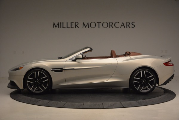 Used 2015 Aston Martin Vanquish Volante for sale Sold at Pagani of Greenwich in Greenwich CT 06830 3