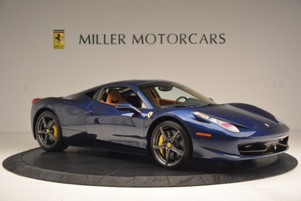 Used 2013 Ferrari 458 Italia for sale Sold at Pagani of Greenwich in Greenwich CT 06830 10