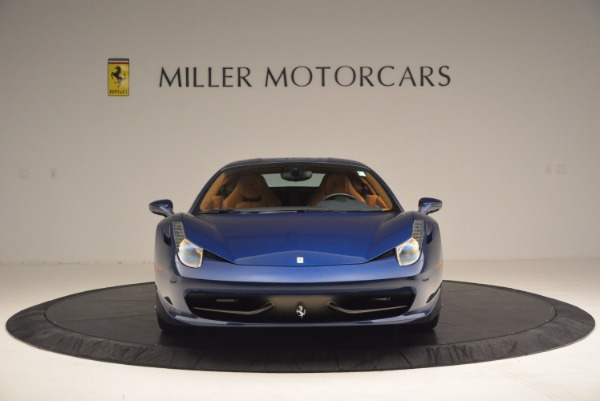 Used 2013 Ferrari 458 Italia for sale Sold at Pagani of Greenwich in Greenwich CT 06830 12
