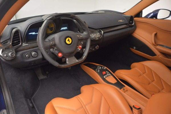 Used 2013 Ferrari 458 Italia for sale Sold at Pagani of Greenwich in Greenwich CT 06830 13