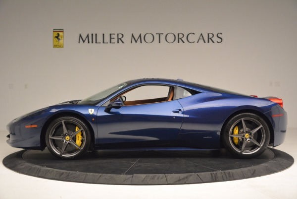 Used 2013 Ferrari 458 Italia for sale Sold at Pagani of Greenwich in Greenwich CT 06830 3