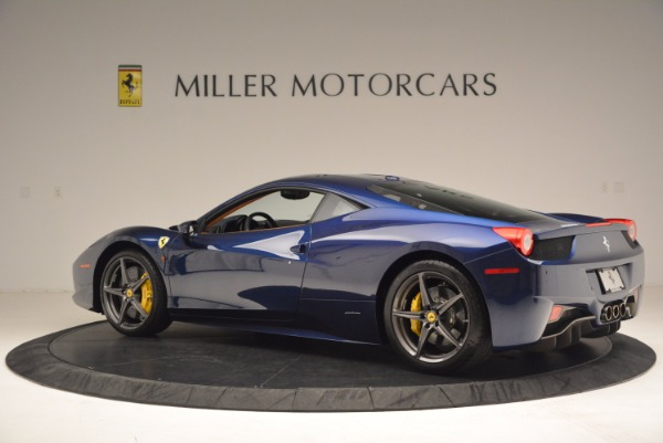 Used 2013 Ferrari 458 Italia for sale Sold at Pagani of Greenwich in Greenwich CT 06830 4