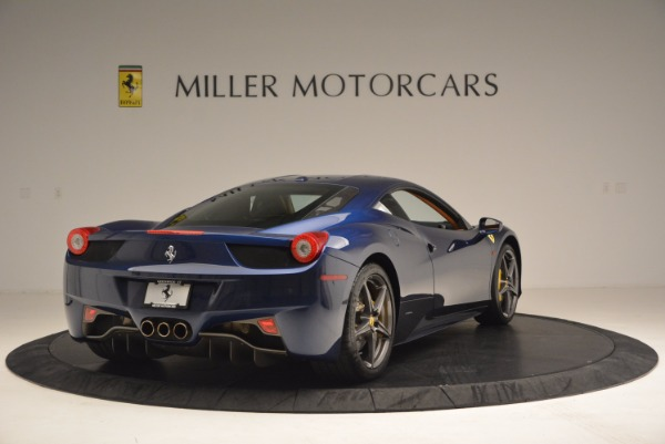Used 2013 Ferrari 458 Italia for sale Sold at Pagani of Greenwich in Greenwich CT 06830 7