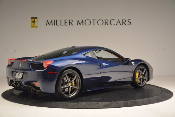 Used 2013 Ferrari 458 Italia for sale Sold at Pagani of Greenwich in Greenwich CT 06830 8