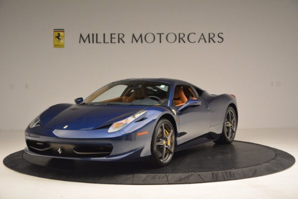 Used 2013 Ferrari 458 Italia for sale Sold at Pagani of Greenwich in Greenwich CT 06830 1
