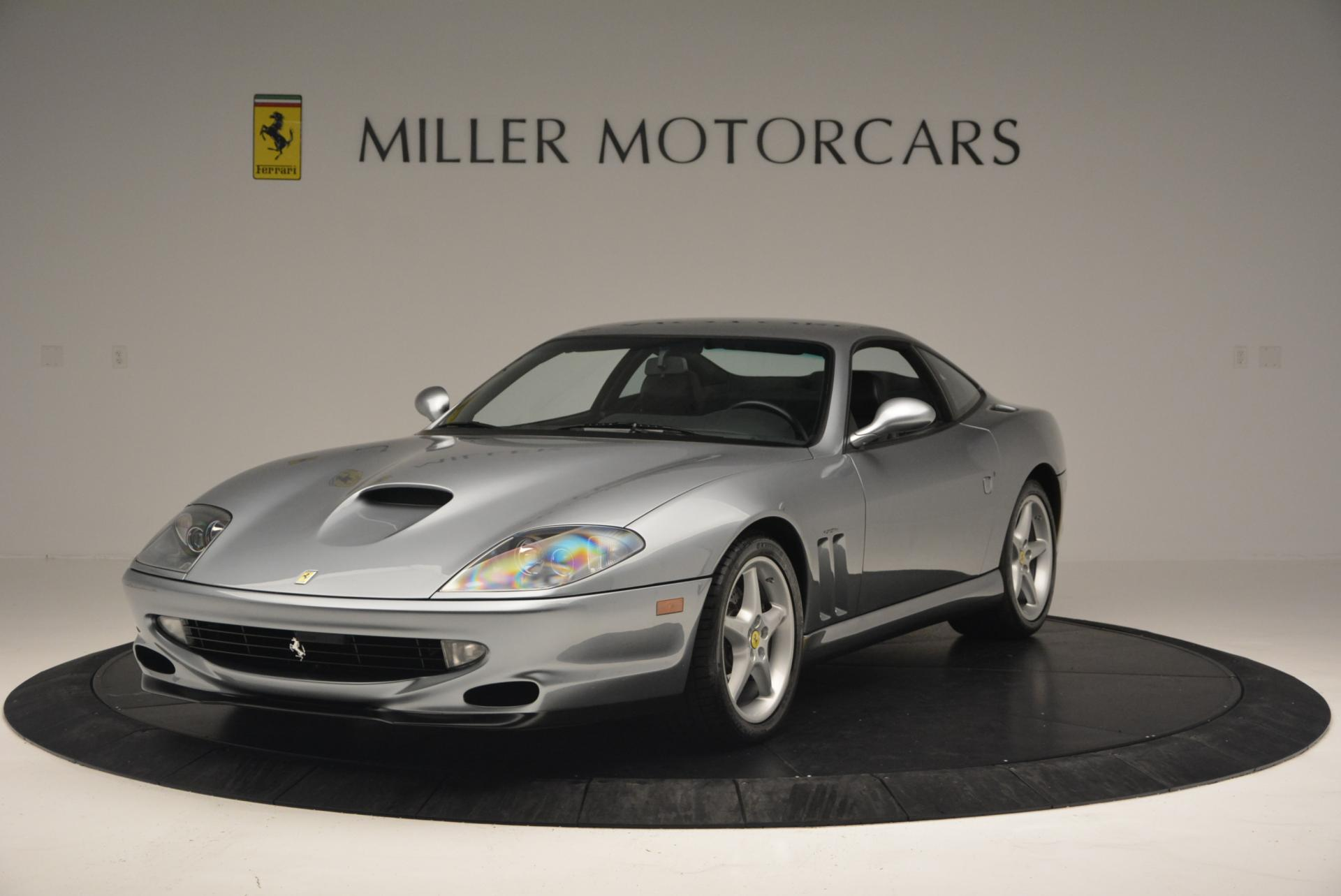 Used 1997 Ferrari 550 Maranello for sale Sold at Pagani of Greenwich in Greenwich CT 06830 1