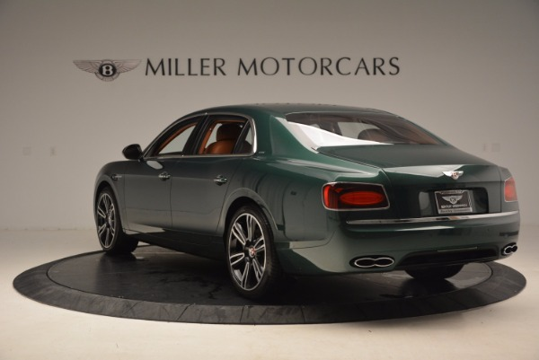 New 2017 Bentley Flying Spur V8 S for sale Sold at Pagani of Greenwich in Greenwich CT 06830 5