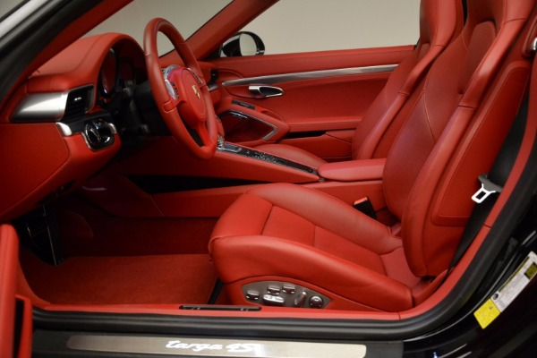 Used 2015 Porsche 911 Targa 4S for sale Sold at Pagani of Greenwich in Greenwich CT 06830 22