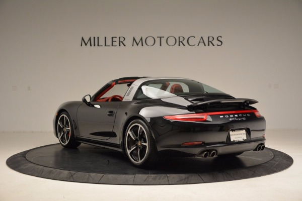 Used 2015 Porsche 911 Targa 4S for sale Sold at Pagani of Greenwich in Greenwich CT 06830 5