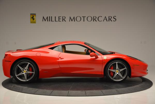 Used 2010 Ferrari 458 Italia for sale Sold at Pagani of Greenwich in Greenwich CT 06830 9