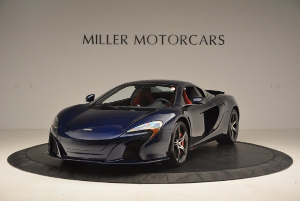 Used 2015 McLaren 650S Spider for sale Sold at Pagani of Greenwich in Greenwich CT 06830 14