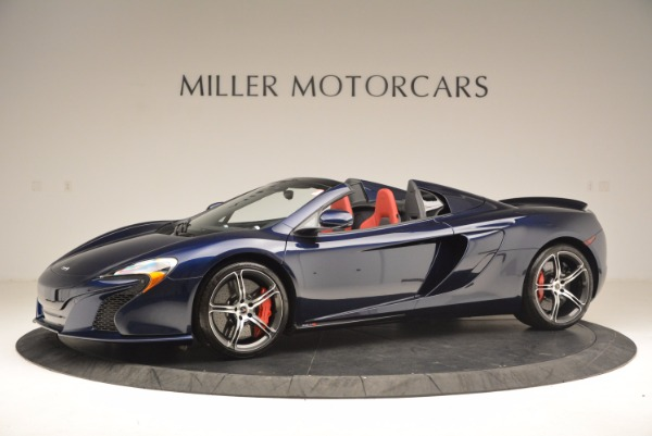 Used 2015 McLaren 650S Spider for sale Sold at Pagani of Greenwich in Greenwich CT 06830 2