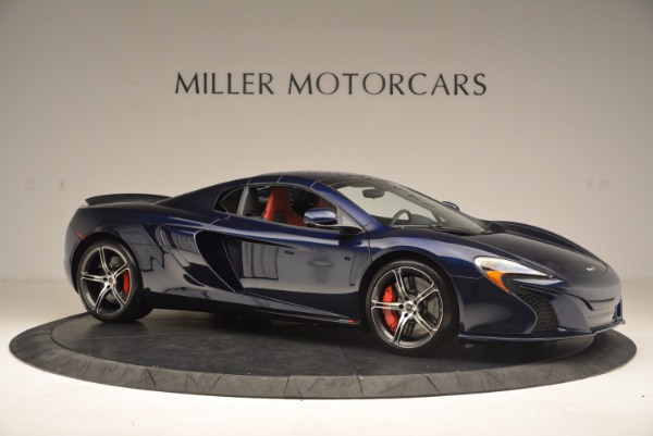 Used 2015 McLaren 650S Spider for sale Sold at Pagani of Greenwich in Greenwich CT 06830 23