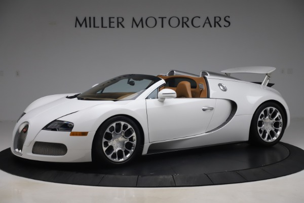 Used 2011 Bugatti Veyron 16.4 Grand Sport for sale Call for price at Pagani of Greenwich in Greenwich CT 06830 2