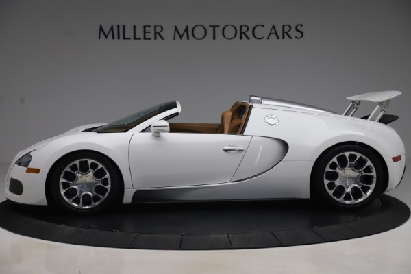 Used 2011 Bugatti Veyron 16.4 Grand Sport for sale Call for price at Pagani of Greenwich in Greenwich CT 06830 3