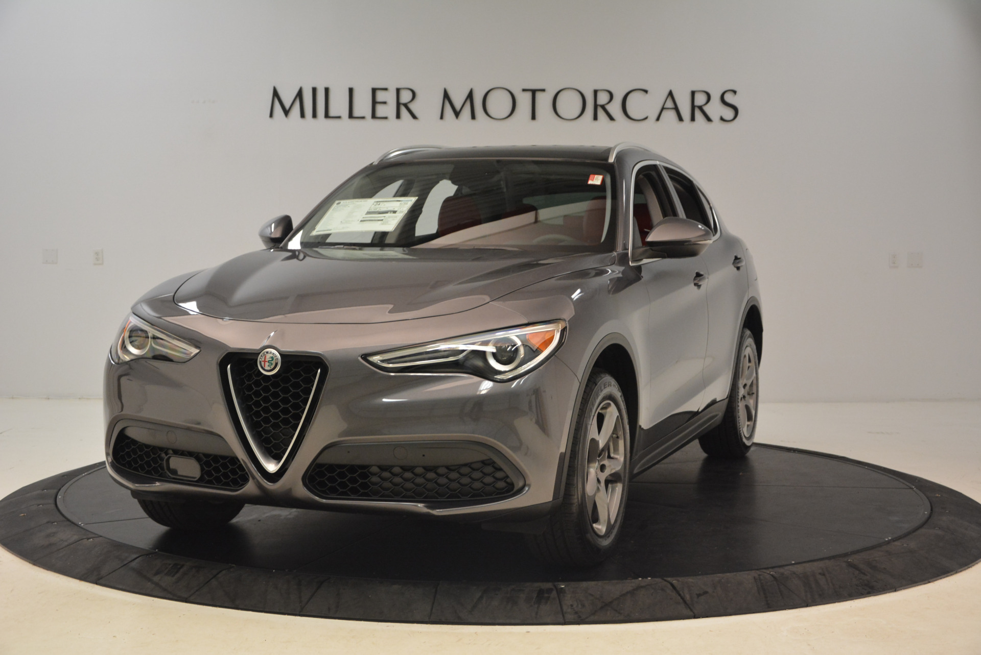 New 2018 Alfa Romeo Stelvio Q4 for sale Sold at Pagani of Greenwich in Greenwich CT 06830 1
