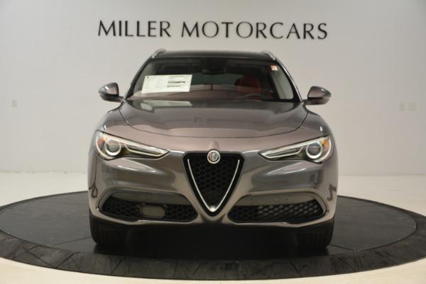 New 2018 Alfa Romeo Stelvio Q4 for sale Sold at Pagani of Greenwich in Greenwich CT 06830 12
