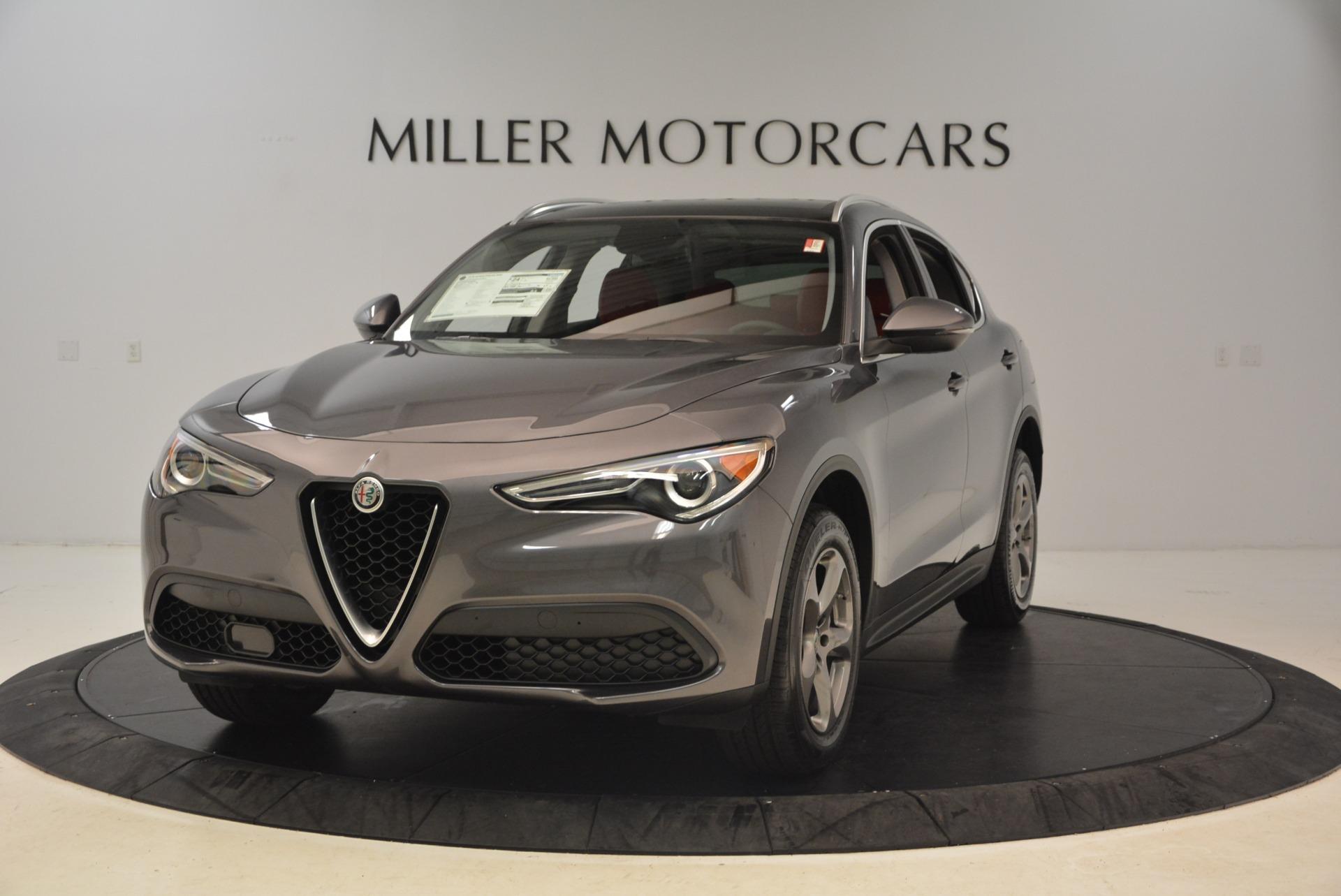 New 2018 Alfa Romeo Stelvio Q4 for sale Sold at Pagani of Greenwich in Greenwich CT 06830 1