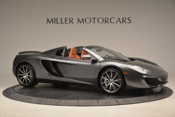 Used 2014 McLaren MP4-12C SPIDER Convertible for sale Sold at Pagani of Greenwich in Greenwich CT 06830 10