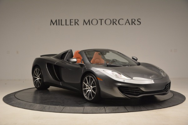 Used 2014 McLaren MP4-12C SPIDER Convertible for sale Sold at Pagani of Greenwich in Greenwich CT 06830 11