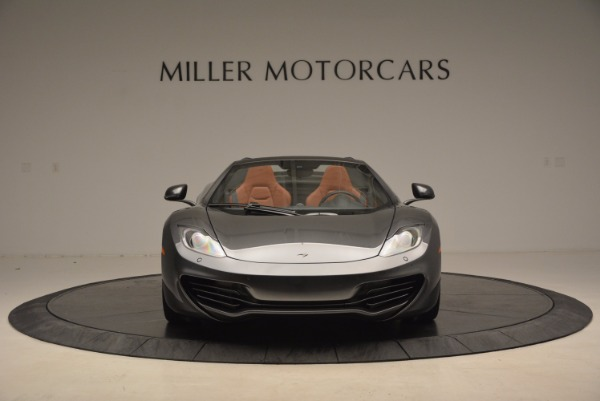 Used 2014 McLaren MP4-12C SPIDER Convertible for sale Sold at Pagani of Greenwich in Greenwich CT 06830 12