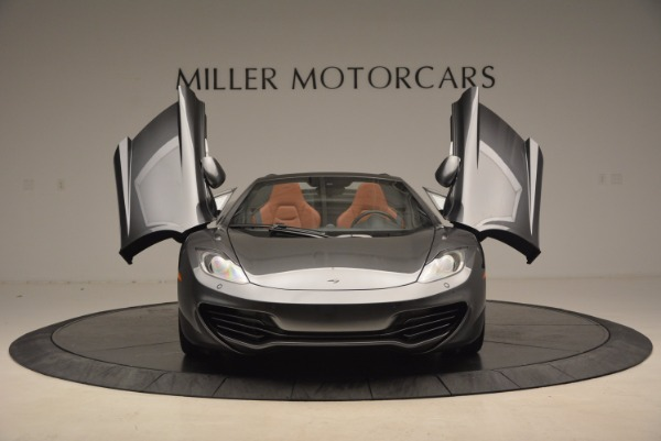 Used 2014 McLaren MP4-12C SPIDER Convertible for sale Sold at Pagani of Greenwich in Greenwich CT 06830 13