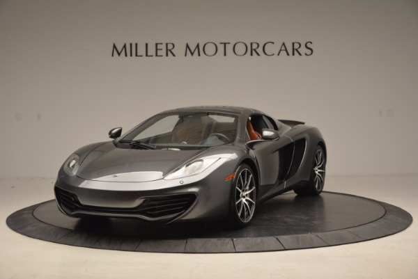 Used 2014 McLaren MP4-12C SPIDER Convertible for sale Sold at Pagani of Greenwich in Greenwich CT 06830 14