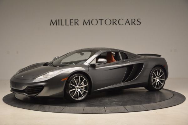 Used 2014 McLaren MP4-12C SPIDER Convertible for sale Sold at Pagani of Greenwich in Greenwich CT 06830 15