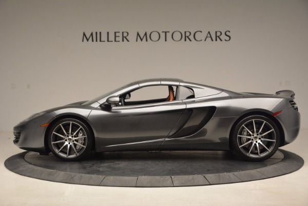 Used 2014 McLaren MP4-12C SPIDER Convertible for sale Sold at Pagani of Greenwich in Greenwich CT 06830 16