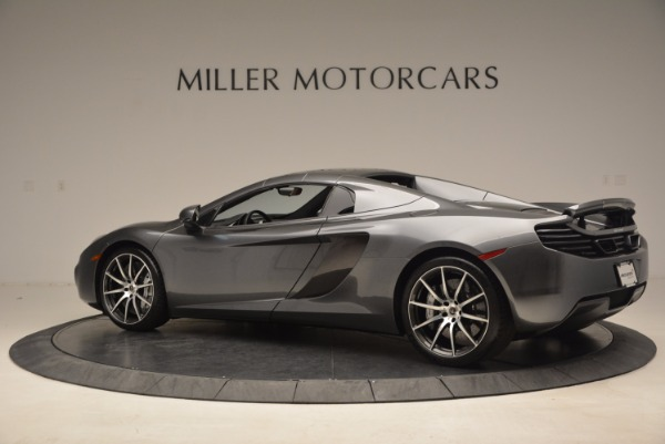 Used 2014 McLaren MP4-12C SPIDER Convertible for sale Sold at Pagani of Greenwich in Greenwich CT 06830 17