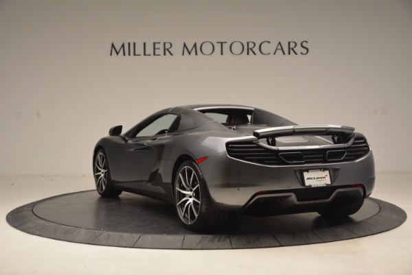 Used 2014 McLaren MP4-12C SPIDER Convertible for sale Sold at Pagani of Greenwich in Greenwich CT 06830 18