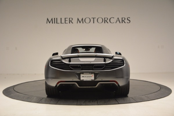 Used 2014 McLaren MP4-12C SPIDER Convertible for sale Sold at Pagani of Greenwich in Greenwich CT 06830 19