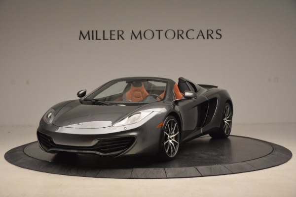 Used 2014 McLaren MP4-12C SPIDER Convertible for sale Sold at Pagani of Greenwich in Greenwich CT 06830 2