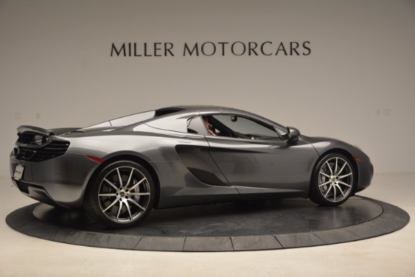 Used 2014 McLaren MP4-12C SPIDER Convertible for sale Sold at Pagani of Greenwich in Greenwich CT 06830 21