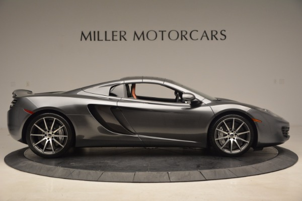 Used 2014 McLaren MP4-12C SPIDER Convertible for sale Sold at Pagani of Greenwich in Greenwich CT 06830 22
