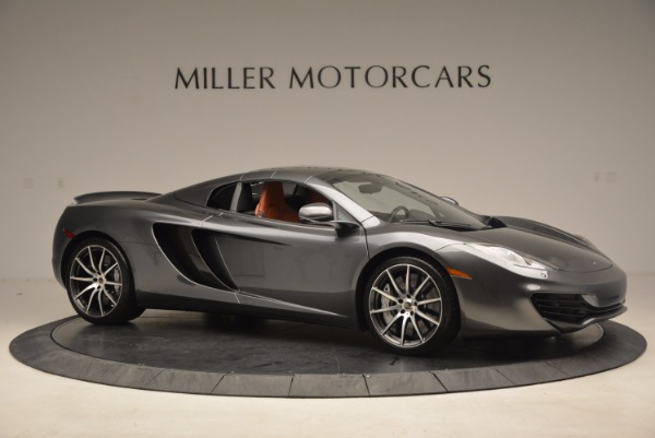 Used 2014 McLaren MP4-12C SPIDER Convertible for sale Sold at Pagani of Greenwich in Greenwich CT 06830 23