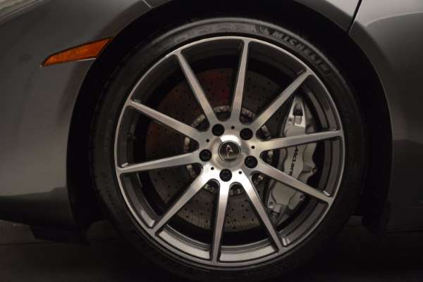 Used 2014 McLaren MP4-12C SPIDER Convertible for sale Sold at Pagani of Greenwich in Greenwich CT 06830 26