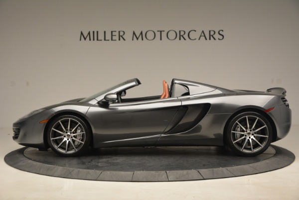 Used 2014 McLaren MP4-12C SPIDER Convertible for sale Sold at Pagani of Greenwich in Greenwich CT 06830 3