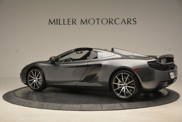 Used 2014 McLaren MP4-12C SPIDER Convertible for sale Sold at Pagani of Greenwich in Greenwich CT 06830 4