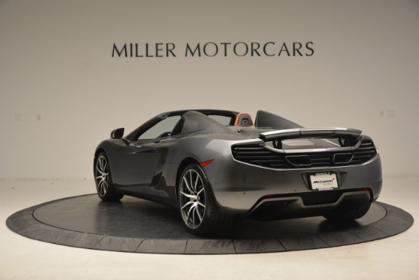 Used 2014 McLaren MP4-12C SPIDER Convertible for sale Sold at Pagani of Greenwich in Greenwich CT 06830 5