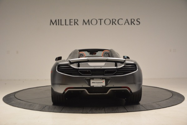 Used 2014 McLaren MP4-12C SPIDER Convertible for sale Sold at Pagani of Greenwich in Greenwich CT 06830 6