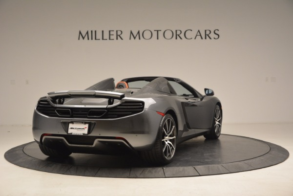 Used 2014 McLaren MP4-12C SPIDER Convertible for sale Sold at Pagani of Greenwich in Greenwich CT 06830 7
