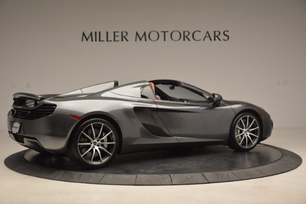 Used 2014 McLaren MP4-12C SPIDER Convertible for sale Sold at Pagani of Greenwich in Greenwich CT 06830 8
