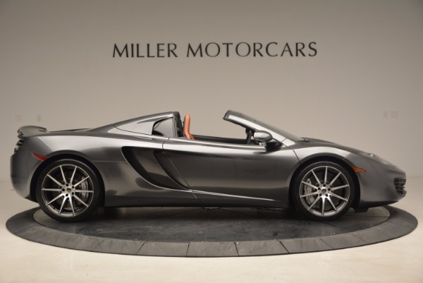 Used 2014 McLaren MP4-12C SPIDER Convertible for sale Sold at Pagani of Greenwich in Greenwich CT 06830 9