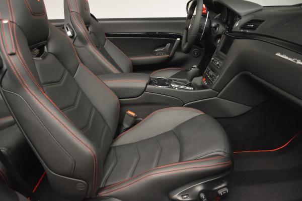 New 2017 Maserati GranTurismo Cab Sport for sale Sold at Pagani of Greenwich in Greenwich CT 06830 26