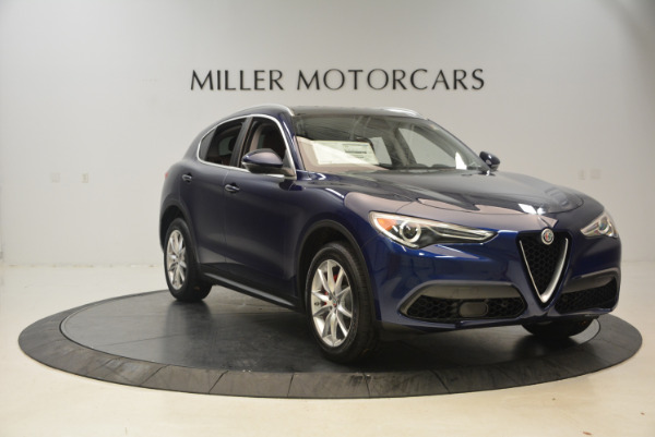 New 2018 Alfa Romeo Stelvio Ti Q4 for sale Sold at Pagani of Greenwich in Greenwich CT 06830 11